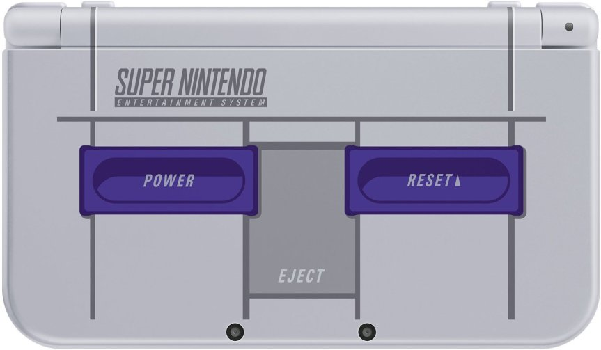 New 3DS XL Super Nintendo Edition