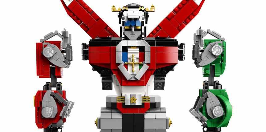 Voltron Lego Set